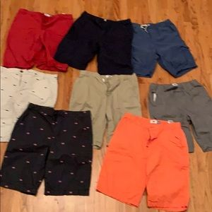 Boys husky size 18 shorts bundle - 8 pairs